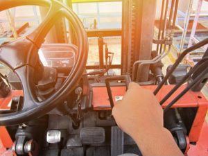 Forklift batteries should be charged and changed in a dedicated, separate area from the warehouse.